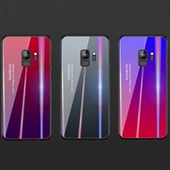 레인보우 홀로그램 나노글라스 갤럭시노트9 S9 S9PLUS