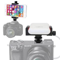 스마트폰 보조배터리 카메라 핫슈 마운트 SET (VCM-553S+KM-096A)