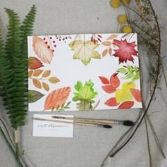 [텐텐클래스] (송파) 가을분위기 물씬~ 수채화