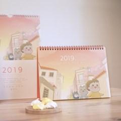 2019 낢 탁상캘린더 L