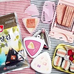 무스비 삼각김밥만들기 5종(슬라+틀+삼틀+김50+용기2)