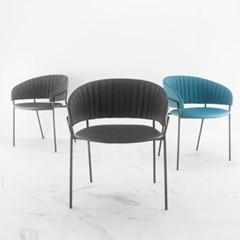 엘리 체어 인조가죽 인테리어 디자인의자