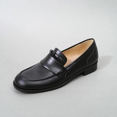 흰_HS1811 Black Loafer