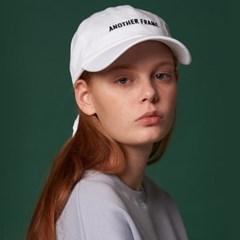 [어나더프레임] ESSENTIAL BALL CAP (WHITE)