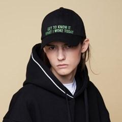 [어나더프레임] U KNOW BALL CAP (BLACK)_(899214)