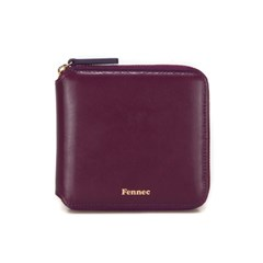 FENNEC ZIPPER WALLET - PLUM PURPLE