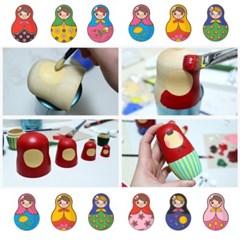 DIY 마트료시카 러시아 인형만들기