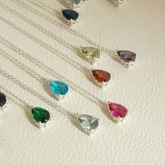 Another Pear drop necklace