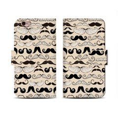 4Pocket Diary cover/ Mr.Mustacheo_Sand ivory