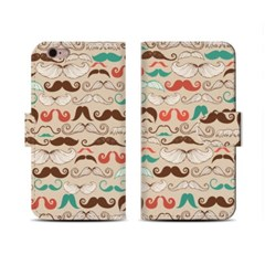 4Pocket Diary cover/ Mr.Mustacheo_Choco