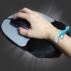 인체공학 손목보호 메모리폼 고급 마우스패드