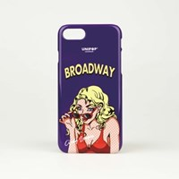 Broadway iPhone case - Purple