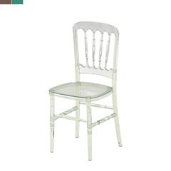모던 클리어 의자 400