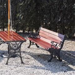 야외용 정원주택 3인 4인 벤치 의자 1540