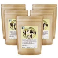 [차누리] 국내산 무농약인증 작두콩차 티백 30T x 5팩