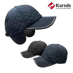 카르닉 퀼팅 귀달이 방한모자(KWC001)