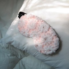 꽃이 피다 레이스 수면안대