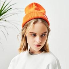 [UNISEX]플라이 레드박스로고 라벨 비니 (F/Orange)