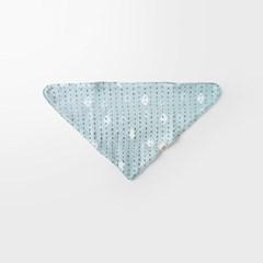 [메르베] 줄무늬속다이아 아기턱받이/침받이_겨울용_(1133729)