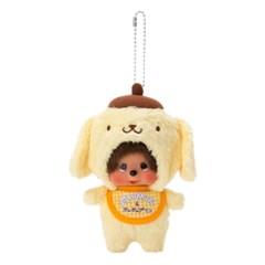Pom Pom Purin  x Monchhichi Big Head SS Mascot