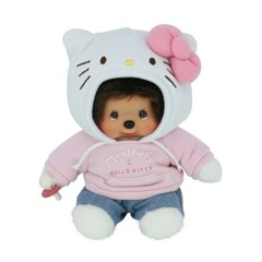 Hello Kitty x Monchhichi S