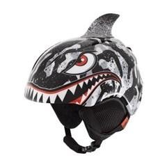 런치 PLUS 유아 아동용 보드스키헬멧 - BLACK GREY TIGRER SHARK