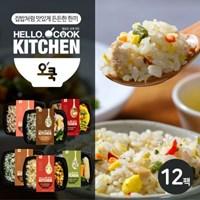 [오쿡] 닭가슴살 도시락 6종 12팩_(10520944)