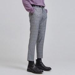 glen plaid slim slacks (3 color) - UNISEX_(1065043)