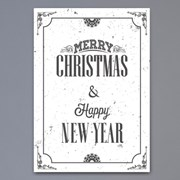 Merry christmas & happy new year - A2,A3,A4 포스터