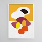 유니크 인테리어 디자인 포스터 M 겨울간식