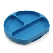범킨스 실리콘 흡착 유아식판-다크블루