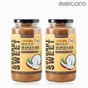 [에버코코] 코코넛 스위트 580g x 2개_(1000997)