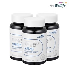 하루습관 오메가-3 60캡슐 3개