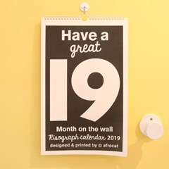 2019 Month on the wall _ type A