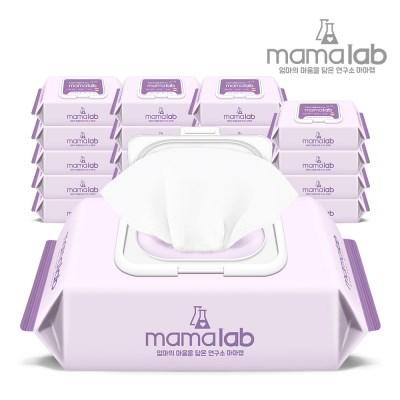 [마마랩] 아기물티슈 올데이 120매 20팩 캡형
