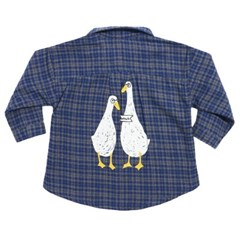 Duck Couple Check Shirts