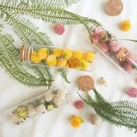 사랑스런 꽃송이를 담은 천일홍 3색 플라워보틀