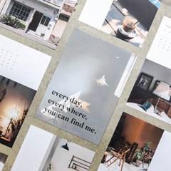 HITCHHIKER 2019 poster calendar