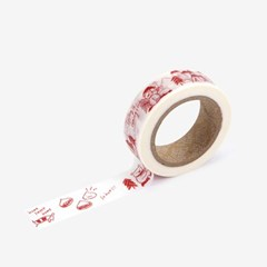 Masking tape single - 140 Winter diary