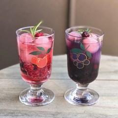 커먼키친 Special Gold Edition # Retro Cherry X Blueberry Goblet