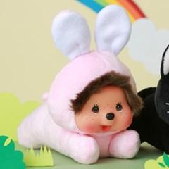 납작 엎드린 몬치치 인형_토끼