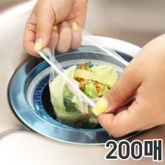 Clean싱크대배수구거름망200매