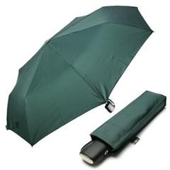 [rain s.] 스퀘어핸들 3단 자동 우양산 - R780_알파인그린