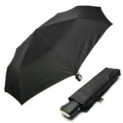 [rain s.] 스퀘어핸들 3단 자동 우양산 - R780_블랙