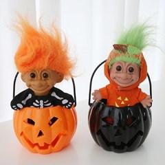 Pumpkin Basket Lamp