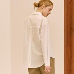 백 컷팅 셔츠