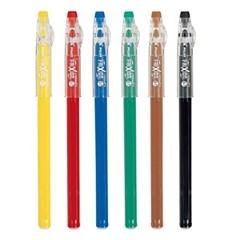 파이롯트 프릭션 색연필 0.7mm 겔잉크 LFP78FN-6C_(970227)