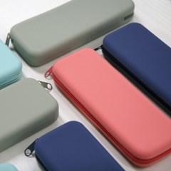 [정품] 갓샵 파스텔 실리콘필통 4color 생활방수 실리콘파우치