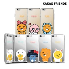 카카오프렌즈 아이폰8plus 7plus 미러 젤리 케이스