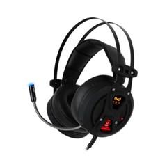 녹스 액티브 노이즈 컨트롤 게이밍 헤드셋 NX-4 BLACK-HOLE